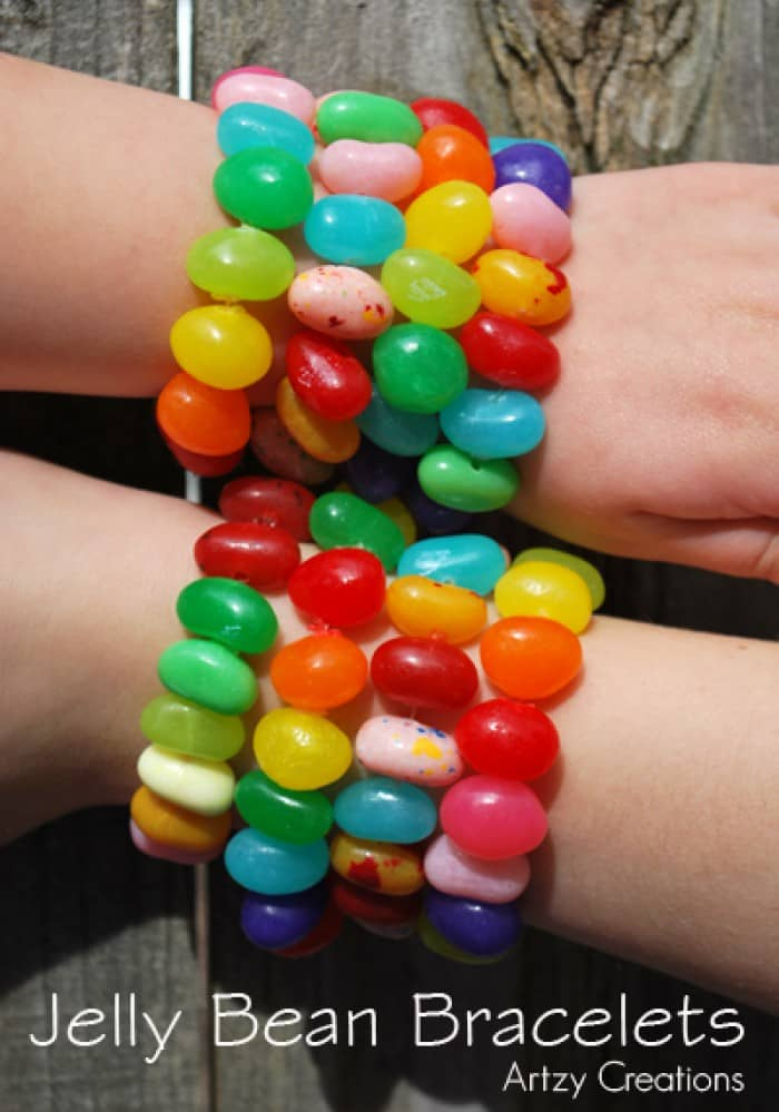jelly bean bracelet craft